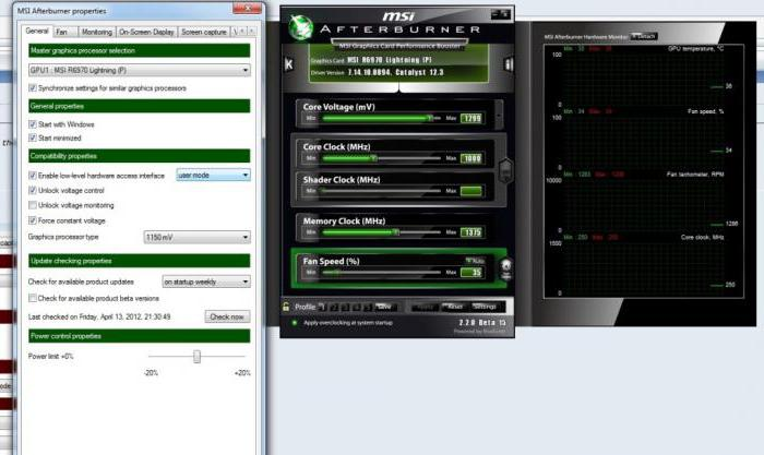 Msi afterburner voltage control  Turn on game monitoring in