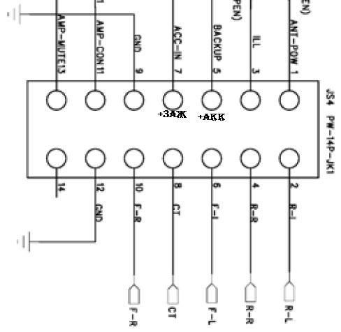 Схема подключение магнитолы sony cdx фото 361
