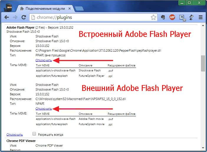 How to enable the adobe flash player plugin  Flash Player does not